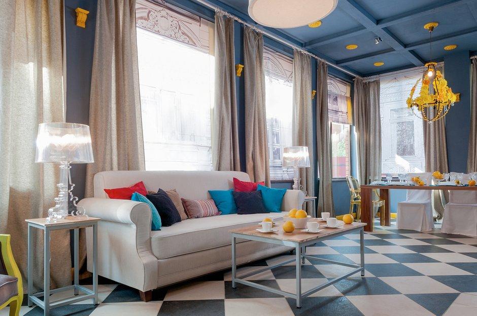 Фотография: Гостиная в стиле Современный, Эклектика, Декор интерьера, Декор дома, IKEA, Ligne Roset, Kartell, Веранда – фото на INMYROOM