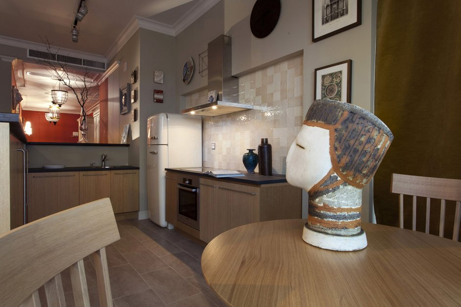 Фотография: Кухня и столовая в стиле Скандинавский, Классический, Квартира, Дома и квартиры, Проект недели – фото на INMYROOM