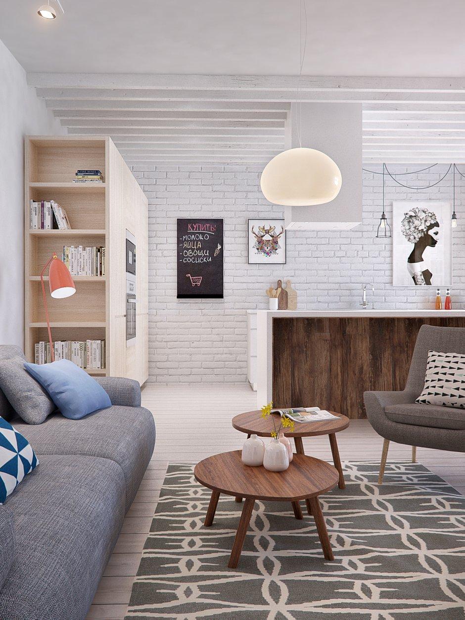 Фотография: Гостиная в стиле Скандинавский, Квартира, Дома и квартиры, IKEA, Проект недели – фото на INMYROOM