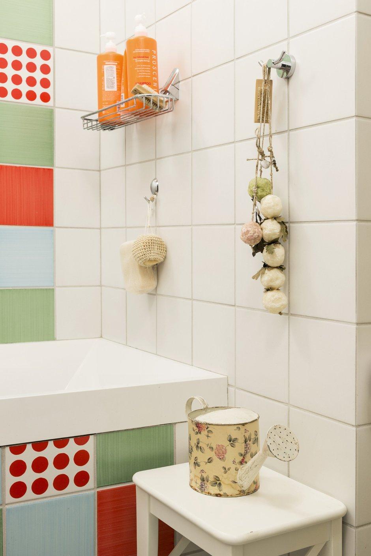 Фотография: Ванная в стиле Прованс и Кантри, Классический, Проект недели, Москва, Ирина Ковылина, 3 комнаты, Более 90 метров – фото на INMYROOM