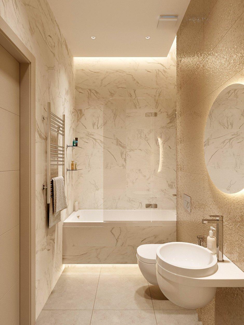 Фотография: Ванная в стиле Современный, Miele, Проект недели, 2 комнаты – фото на INMYROOM