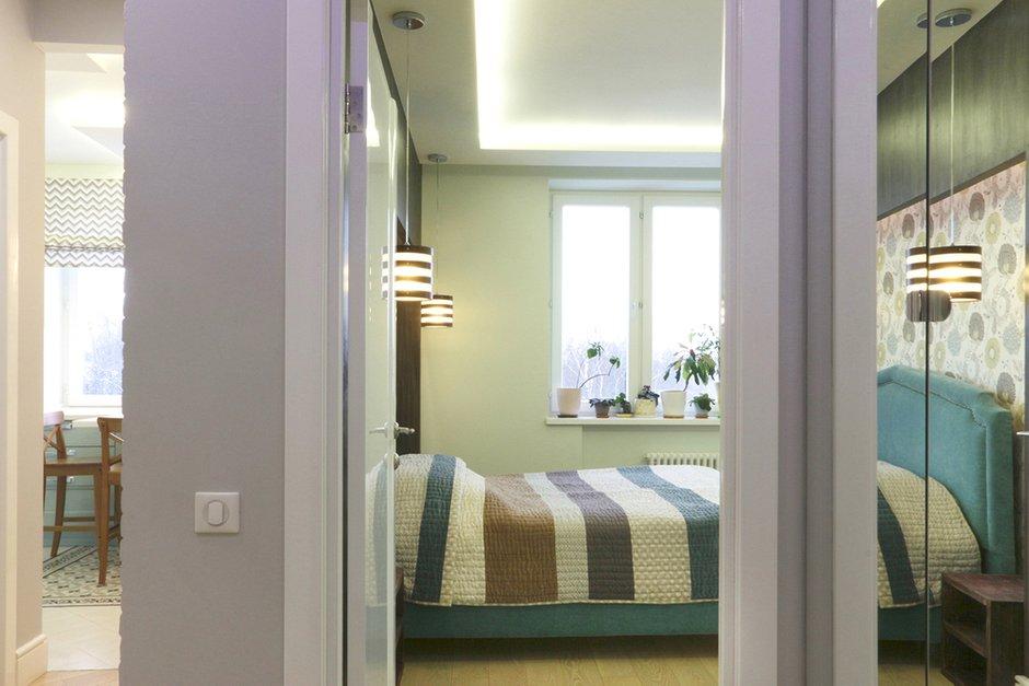 Фотография: Спальня в стиле Современный, Квартира, Проект недели, Химки, SPACE4LIFE – фото на INMYROOM