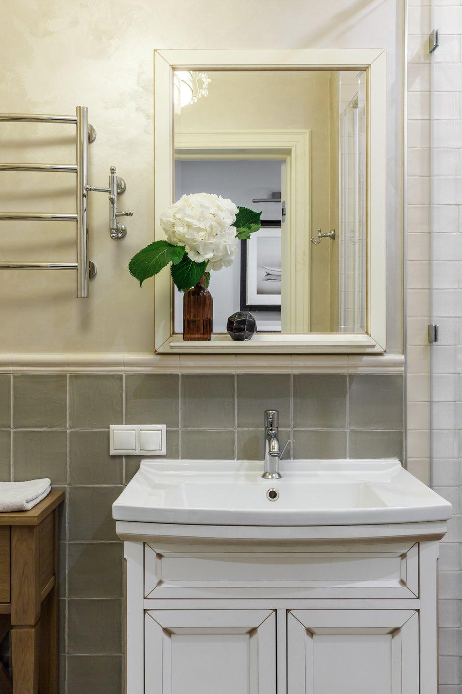 Фотография: Ванная в стиле Прованс и Кантри, Квартира, Проект недели, Москва, NW-Interior, Монолитный дом, 4 и больше, Более 90 метров – фото на INMYROOM