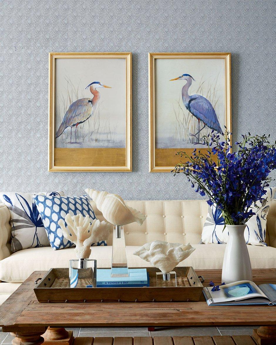 Фотография: Гостиная в стиле Восточный, Классический, Декор интерьера, Декор дома, Картины – фото на INMYROOM