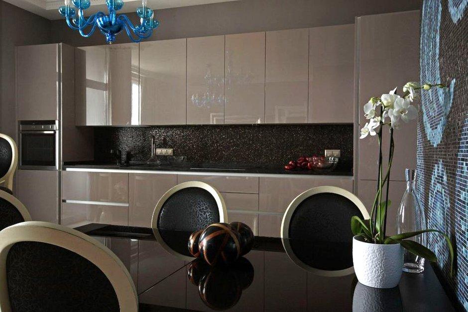 Фотография: Кухня и столовая в стиле Эклектика, Квартира, Дома и квартиры, Проект недели, Москва – фото на INMYROOM