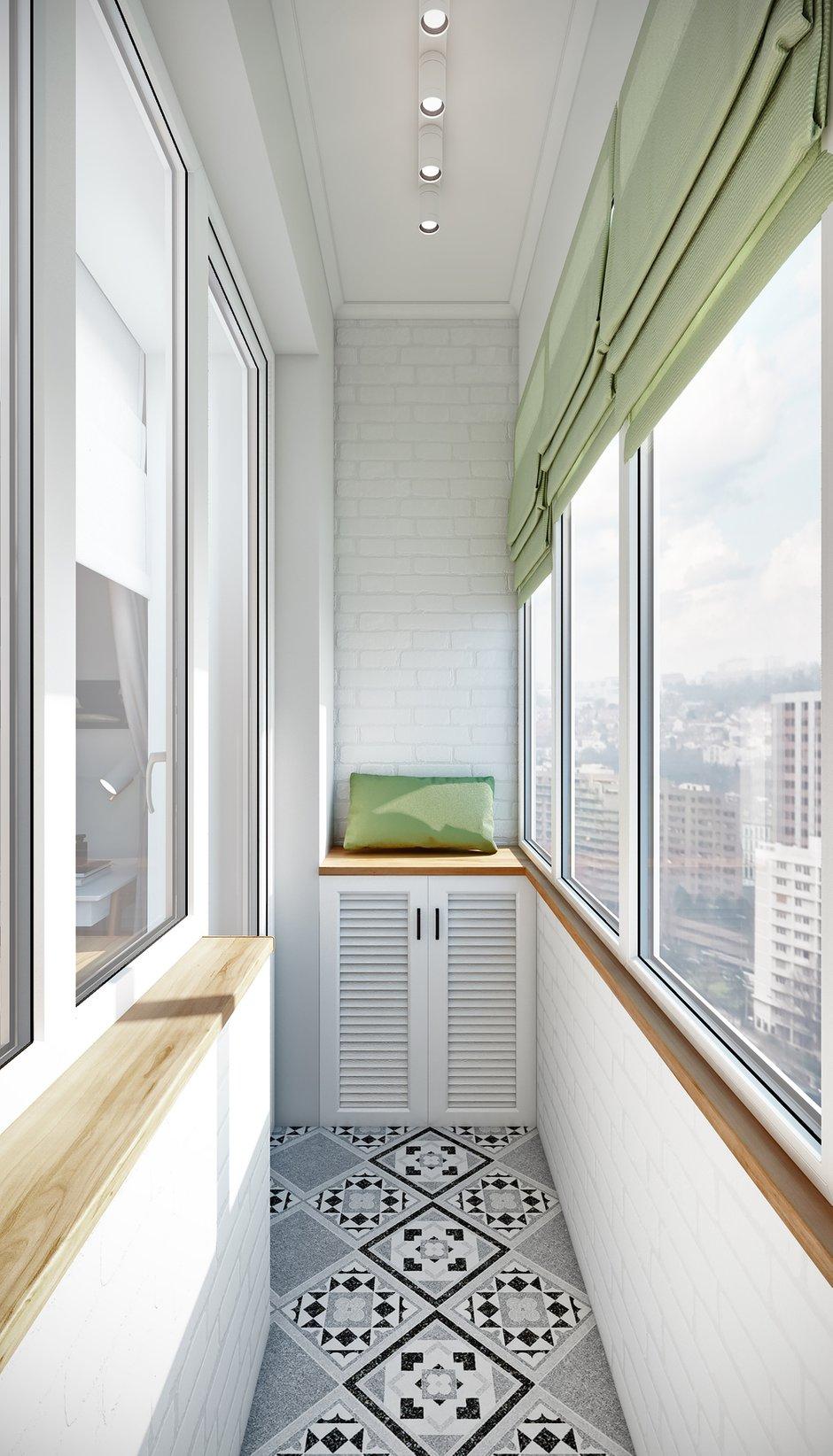 Фотография: Балкон в стиле Скандинавский, Современный, Квартира, Проект недели, Москва, Co:Interior, Сталинка, 3 комнаты, 60-90 метров – фото на INMYROOM