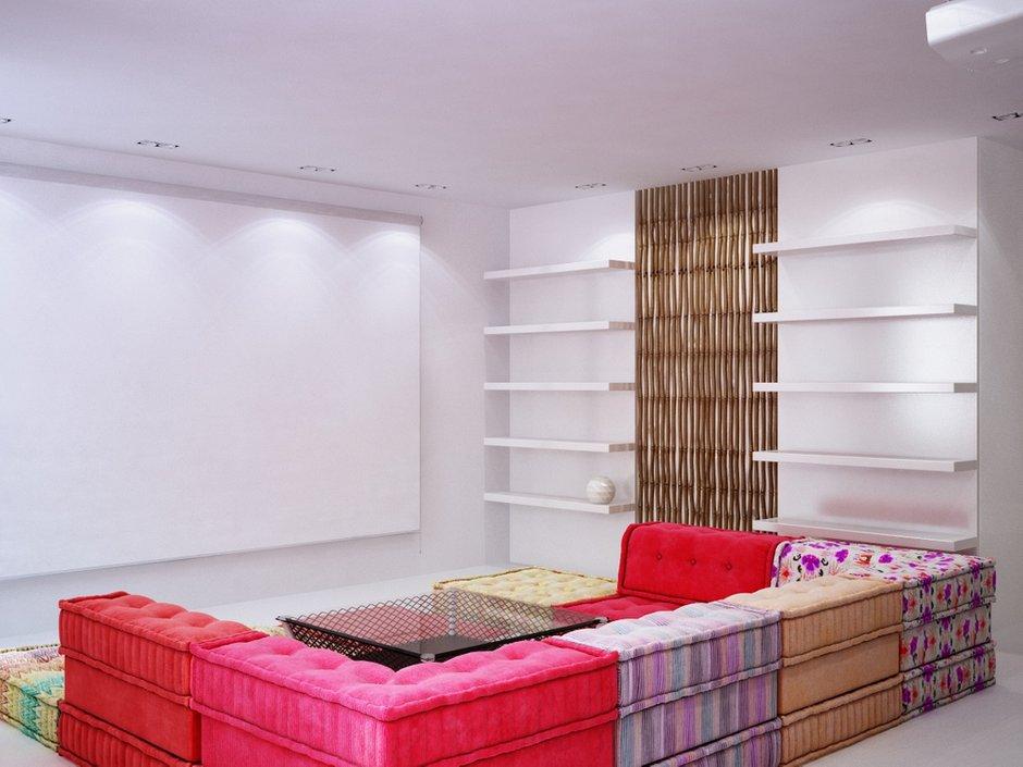 Фотография: Гостиная в стиле Современный, Эклектика, Квартира, Дома и квартиры, Минимализм – фото на INMYROOM