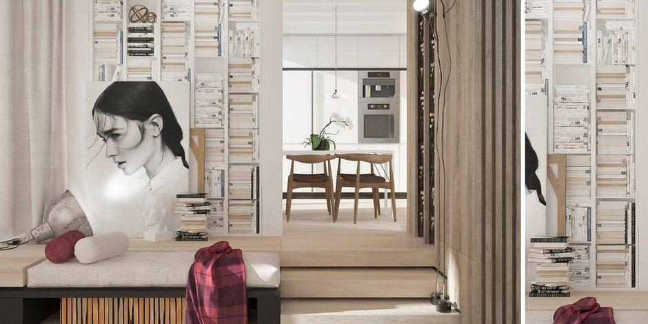 Фотография: Кухня и столовая в стиле Лофт, Современный, Эклектика, Декор интерьера, Квартира, Белый, Проект недели, Бежевый – фото на INMYROOM