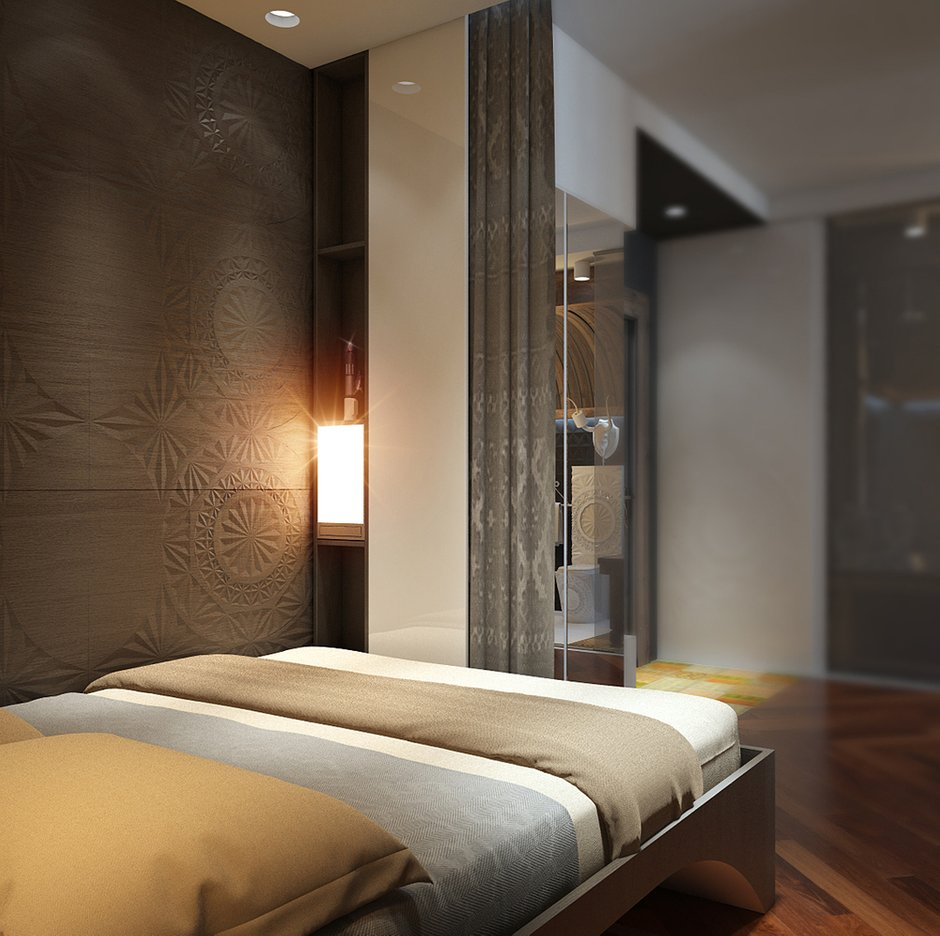 Фотография: Спальня в стиле Эклектика, Квартира, Дома и квартиры, Проект недели – фото на INMYROOM