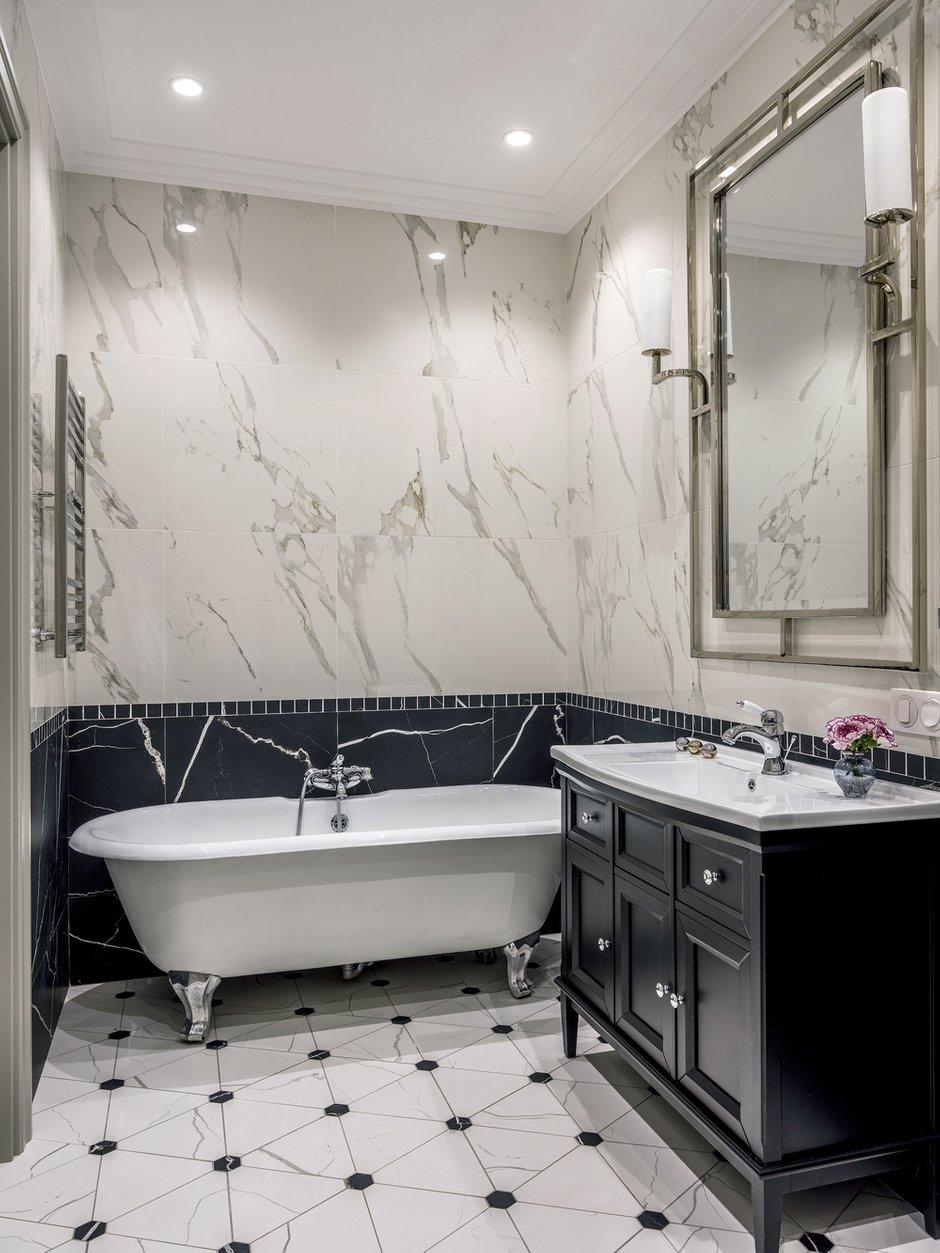 Фотография: Ванная в стиле Классический, Современный, Квартира, Проект недели, Москва, 4 и больше, Более 90 метров, Anddesign – фото на INMYROOM