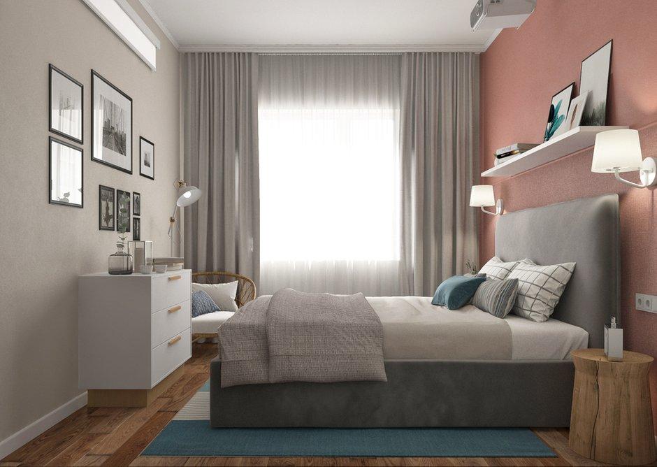 Фотография: Спальня в стиле Современный, Квартира, Проект недели, Санкт-Петербург, Более 90 метров, Projector Studio – фото на INMYROOM