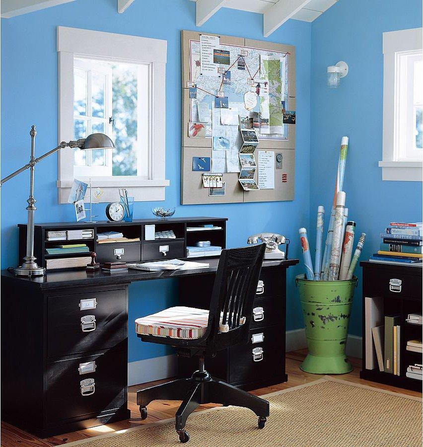 Фотография: Офис в стиле Скандинавский, Детская, Интерьер комнат – фото на INMYROOM
