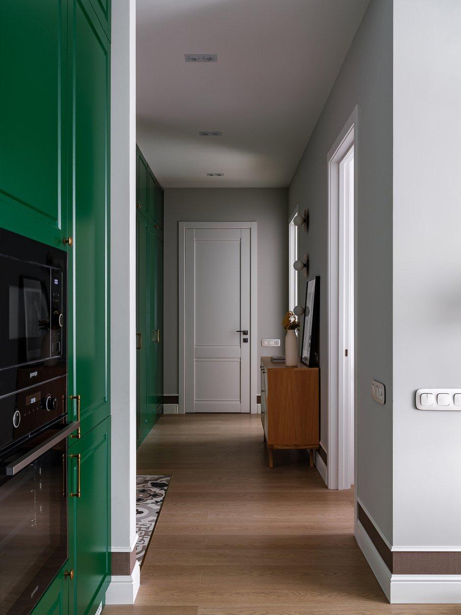 Фотография: Прихожая в стиле Современный, Квартира, Проект недели, Москва, 3 комнаты, 40-60 метров, 60-90 метров, Светлана Капустина – фото на INMYROOM
