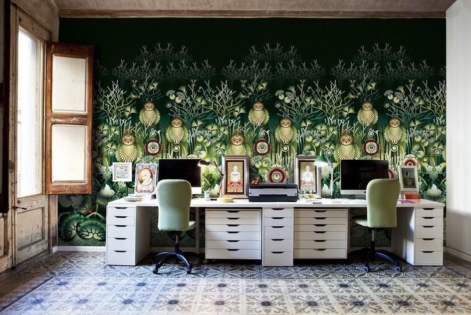 Фотография: Офис в стиле Современный, Декор интерьера, Квартира, Текстиль – фото на INMYROOM