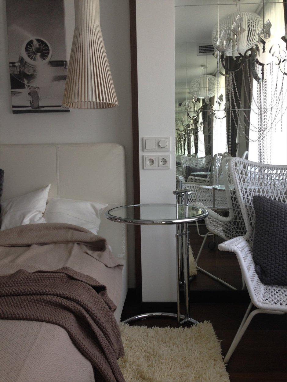 Фотография: Спальня в стиле Скандинавский, Современный, Квартира, Дома и квартиры, Проект недели – фото на INMYROOM