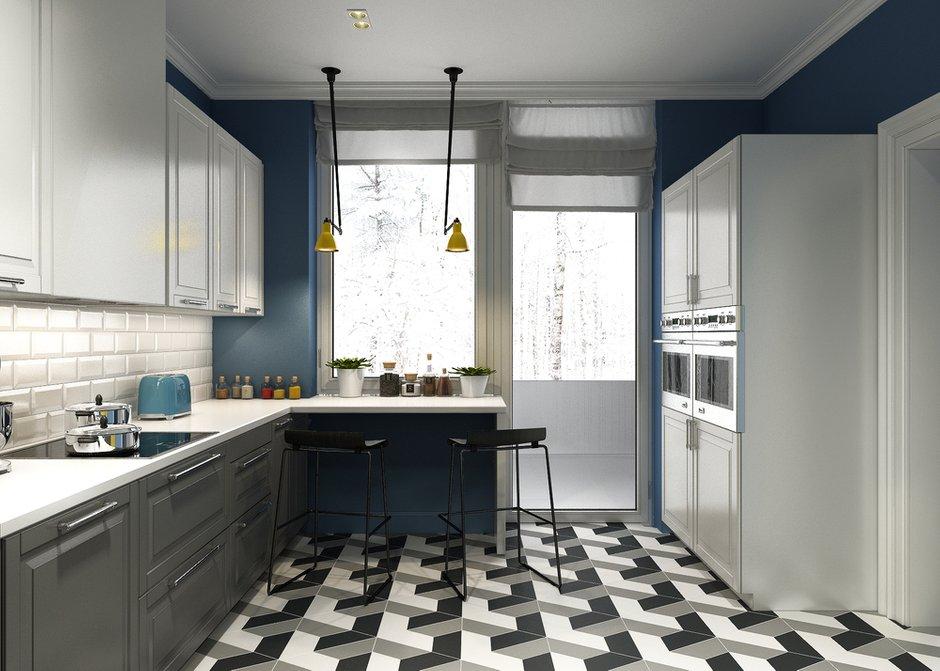 Фотография: Кухня и столовая в стиле Скандинавский, Квартира, Проект недели, Анастасия Туганова – фото на INMYROOM