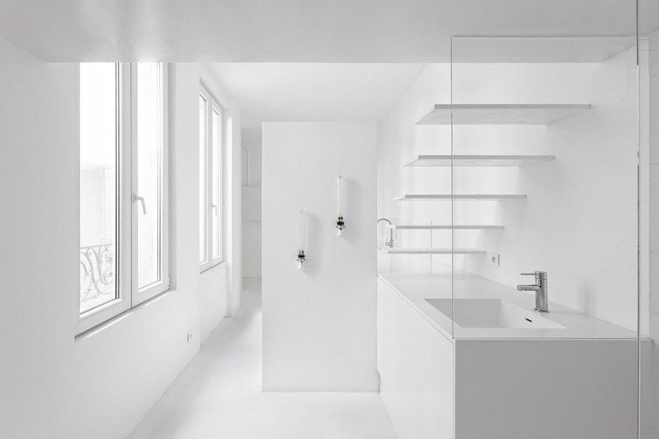 Фотография: Мебель и свет в стиле Современный, Хай-тек, Малогабаритная квартира, Квартира, Дома и квартиры, Париж – фото на INMYROOM