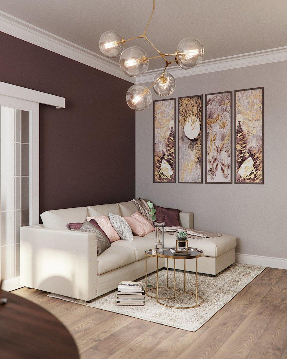 Фотография:  в стиле , Гостиная, Современный, Декор интерьера, Карта покупок, Розовый, Анастасия Кудряшова – фото на INMYROOM