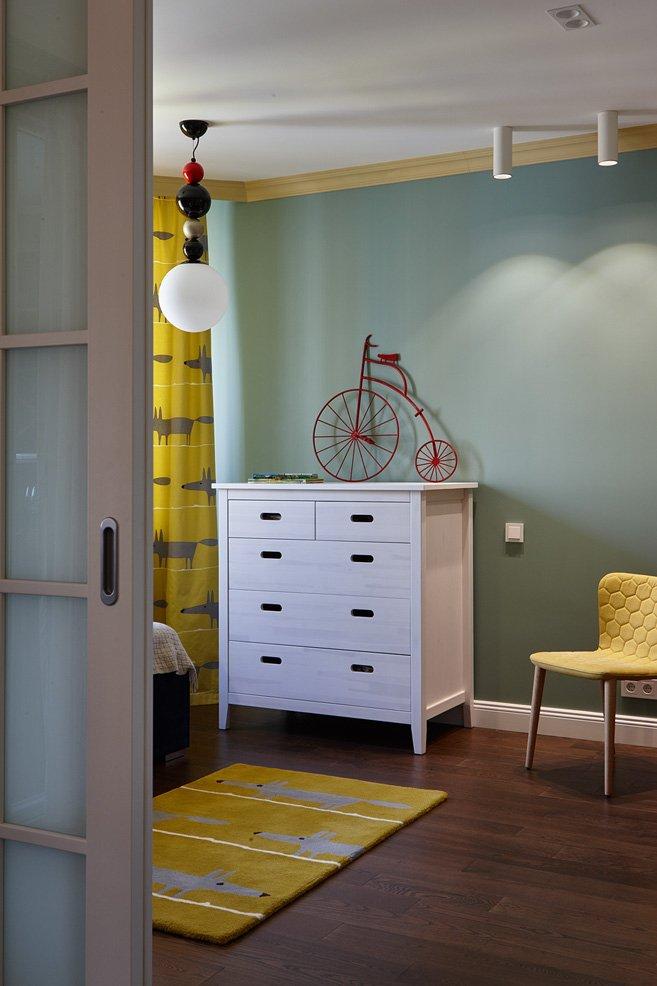 Фотография:  в стиле , Квартира, Проект недели, Москва, как из однушки сделать двушку, Айя Лисова – фото на INMYROOM