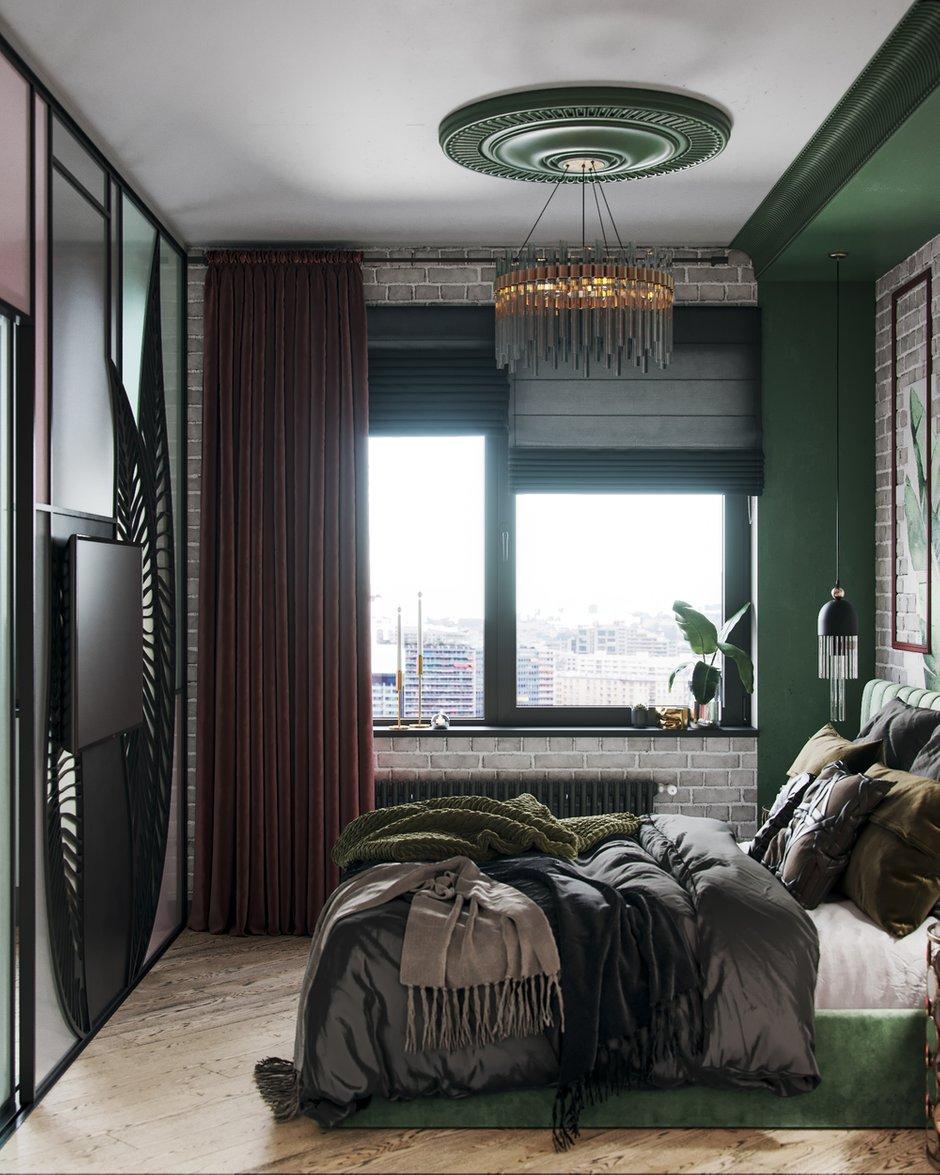 Фотография: Спальня в стиле Современный, Эклектика, Декор интерьера, Квартира, Проект недели, Москва, 3 комнаты, 60-90 метров, Алена Горская – фото на INMYROOM