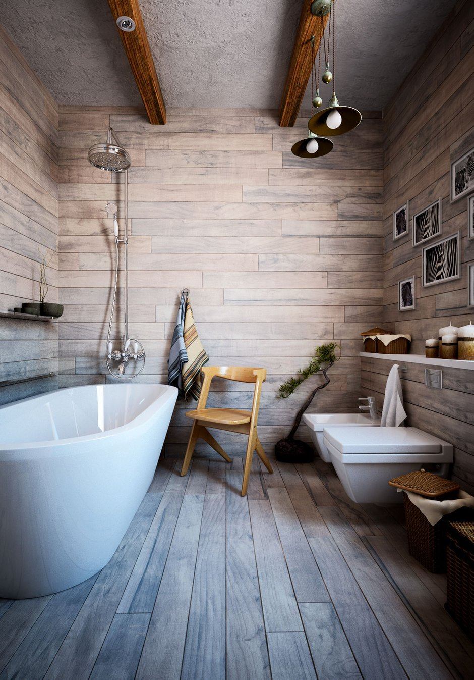 Фотография: Ванная в стиле Скандинавский, Квартира, Дом, Дома и квартиры, Проект недели – фото на InMyRoom.ru
