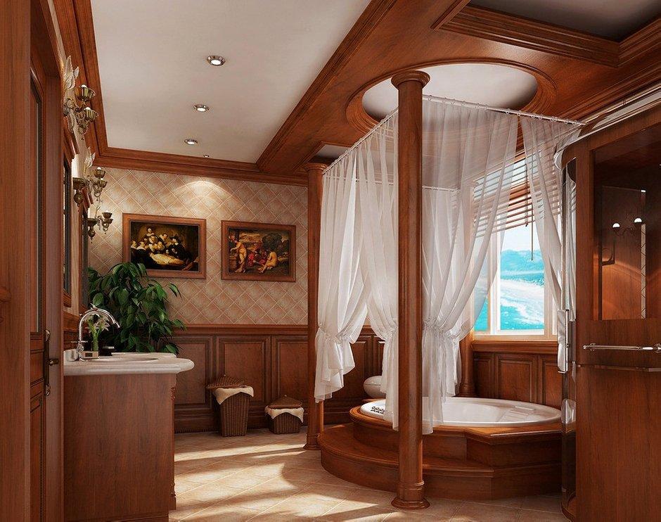 Фотография: Ванная в стиле Прованс и Кантри, Современный, Декор интерьера, Квартира, Дом, Декор дома, Потолок – фото на INMYROOM