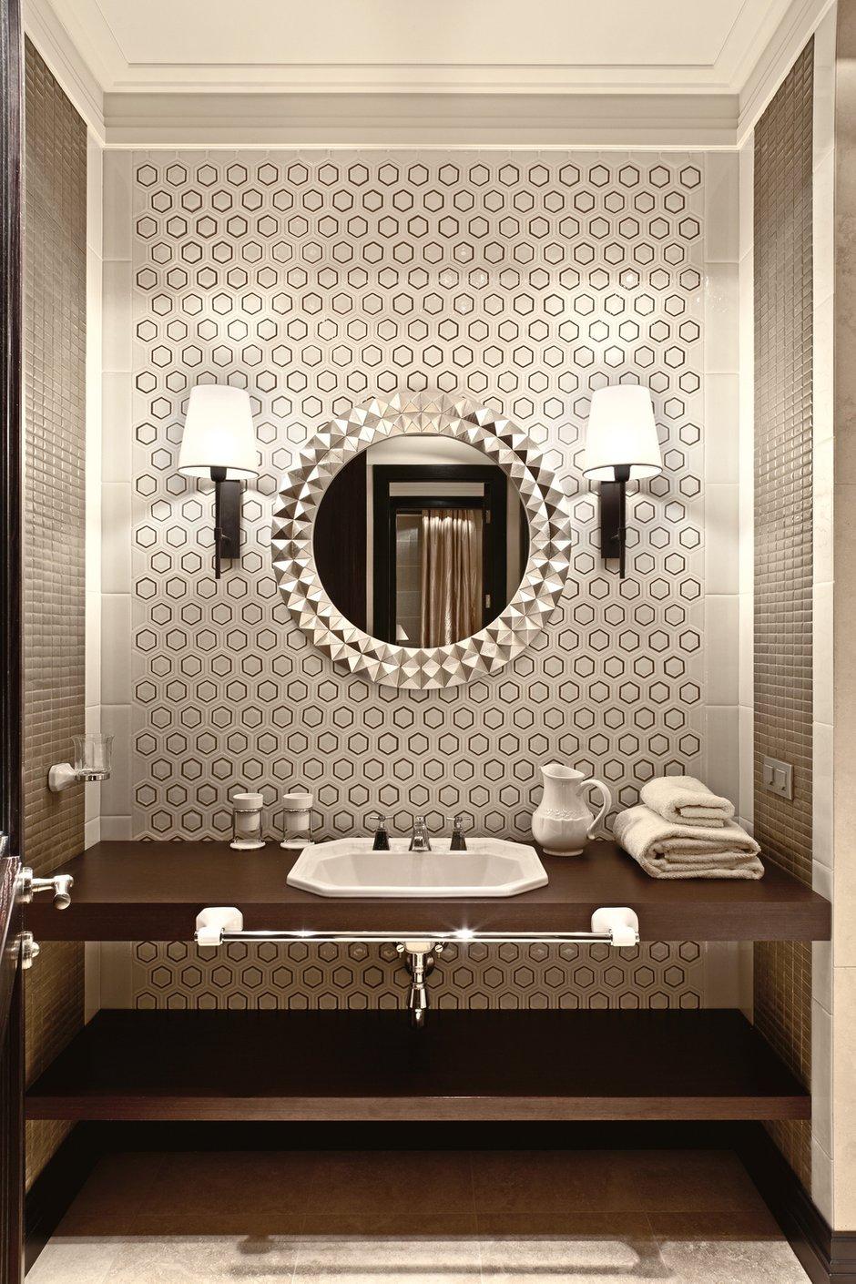 Фотография: Ванная в стиле Восточный, Эклектика, Дом, Дома и квартиры – фото на INMYROOM
