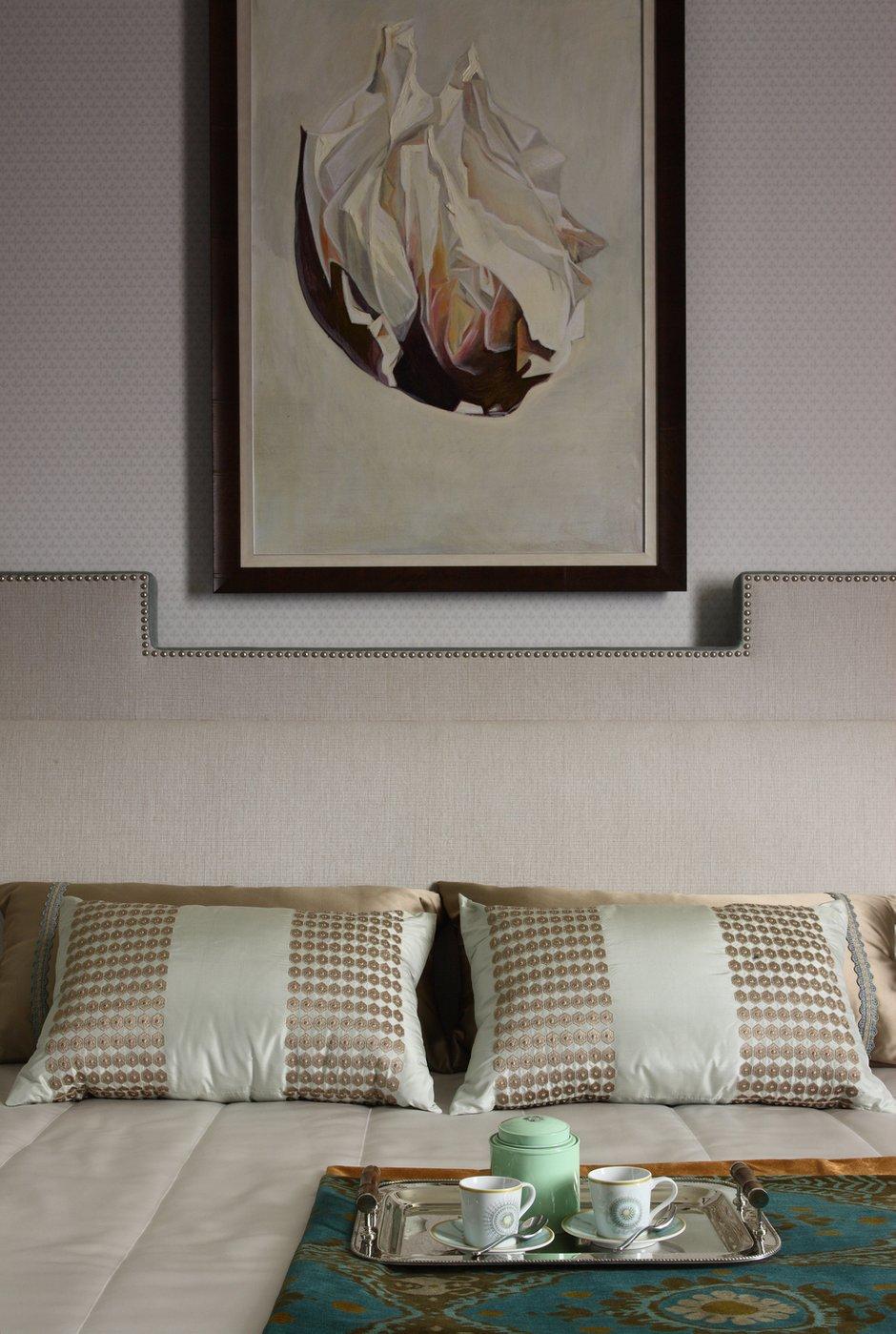 Фотография: Спальня в стиле Классический, Современный, Квартира, BOSCH, Проект недели, Москва, Лена Ленских, Manders, ЖК «Доминион» – фото на INMYROOM
