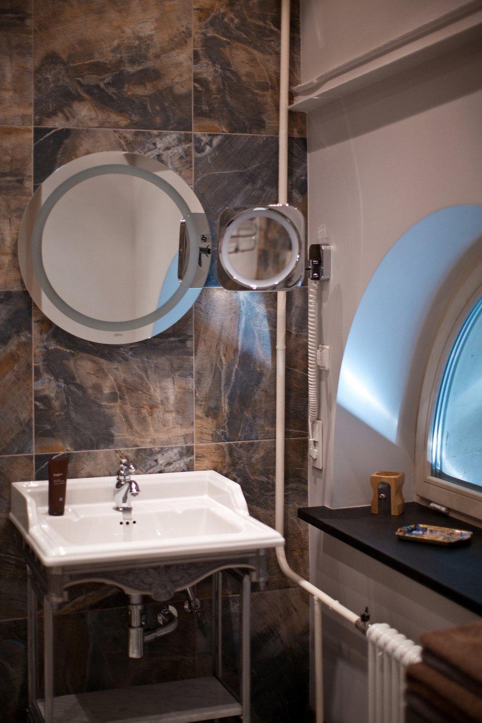Фотография: Ванная в стиле Эклектика, Эко, Квартира, Проект недели – фото на INMYROOM