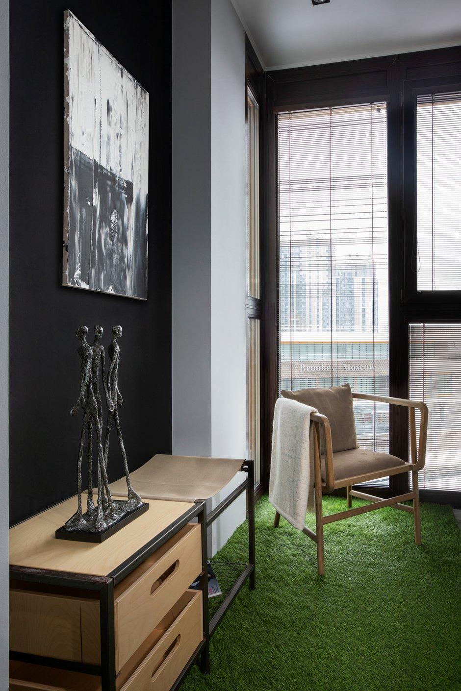 Фотография: Балкон в стиле Современный, Квартира, Студия, Проект недели, Москва, 40-60 метров, Анна Никитина – фото на INMYROOM