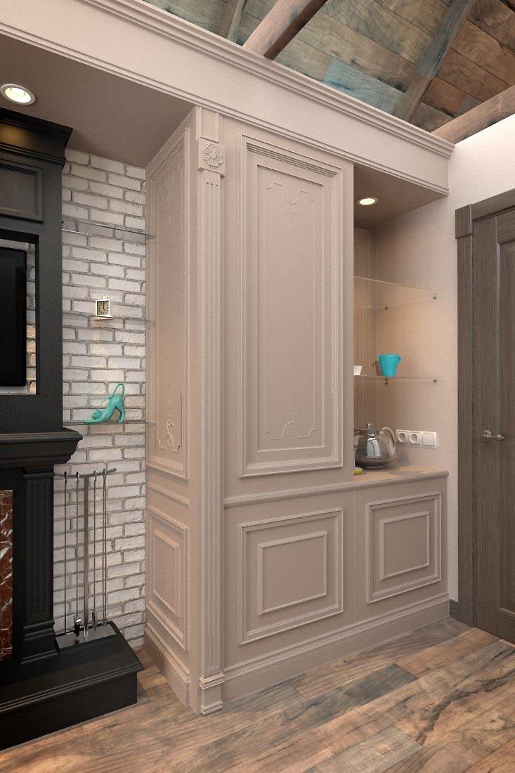 Фотография: Гостиная в стиле Прованс и Кантри, Дом, Дома и квартиры, Шале – фото на INMYROOM
