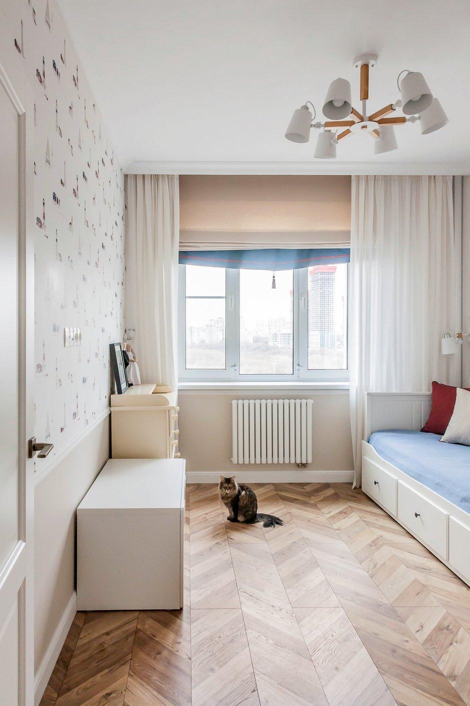 Фотография: Детская в стиле Современный, Квартира, Проект недели, Москва, 3 комнаты, 60-90 метров, Евгения Постухова – фото на INMYROOM