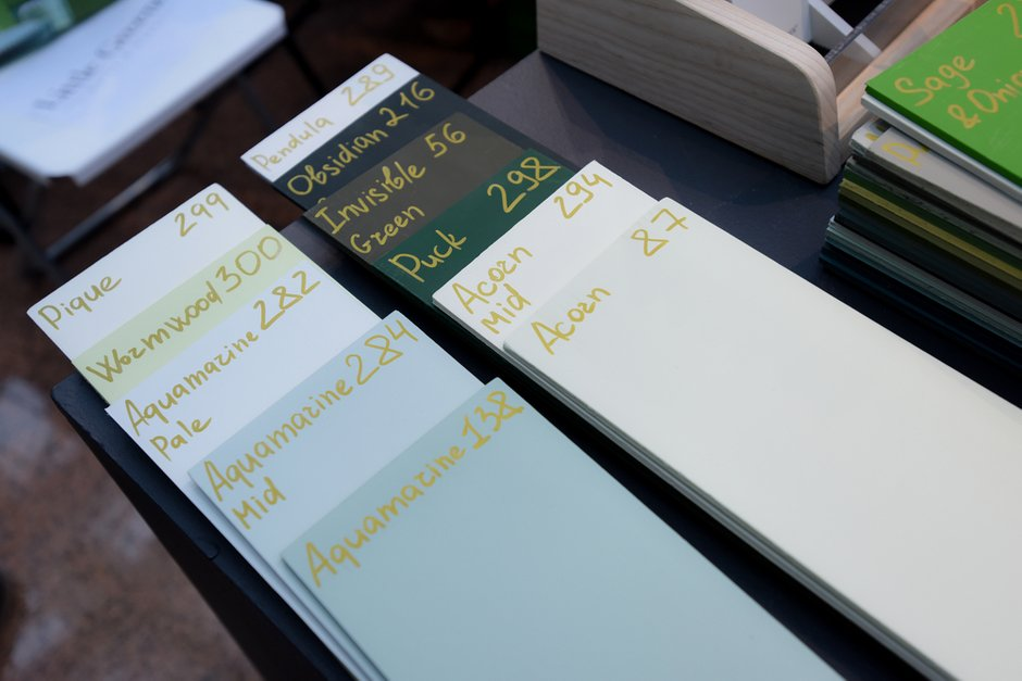 Фотография:  в стиле , Цвет в интерьере, Краски, Интервью, цветовая гамма интерьера, Как выбрать цвет краски для стен, Little Greenе, Дэвид Моттерсхед – фото на INMYROOM