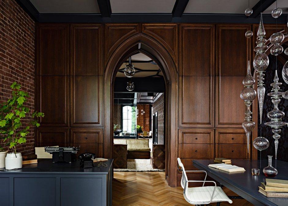 Фотография: Офис в стиле Лофт, Современный, Эклектика, Офисное пространство, Дома и квартиры, Проект недели, Готический – фото на INMYROOM
