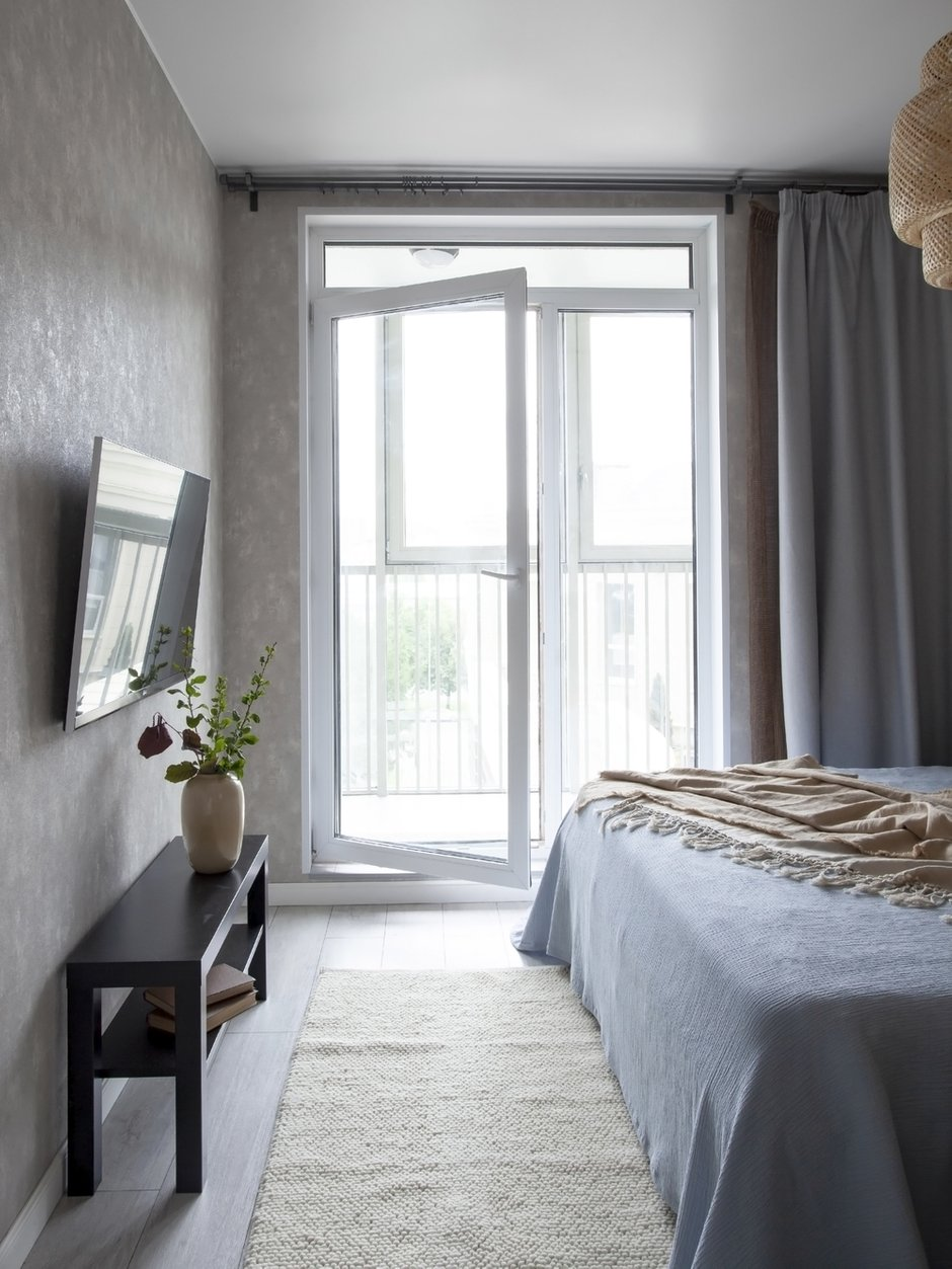Фотография: Спальня в стиле Современный, Малогабаритная квартира, Квартира, Студия, Проект недели, Санкт-Петербург, до 40 метров, Любовь Уткина – фото на INMYROOM