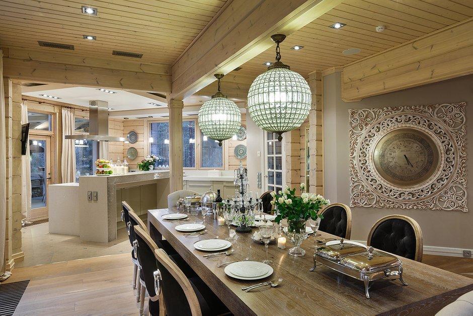 Фотография: Кухня и столовая в стиле , Классический, Дом, Дома и квартиры, Проект недели, Дача – фото на INMYROOM