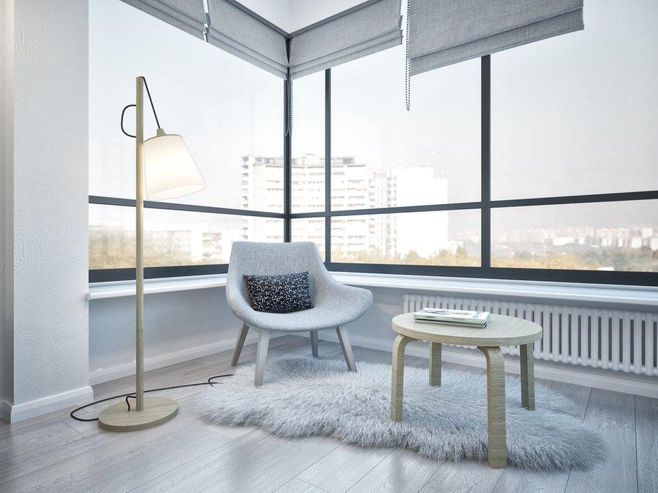 Фотография: Балкон в стиле Скандинавский, Квартира, Проект недели, Москва, двушка, Степан Бугаев, «Победа дизайна» – фото на INMYROOM