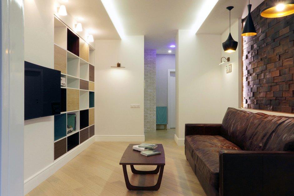 Фотография: Гостиная в стиле Современный, Квартира, Проект недели, Химки, SPACE4LIFE – фото на INMYROOM