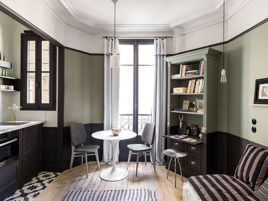 Фотография: Кухня и столовая в стиле Классический, Малогабаритная квартира, Квартира, Гид – фото на InMyRoom.ru