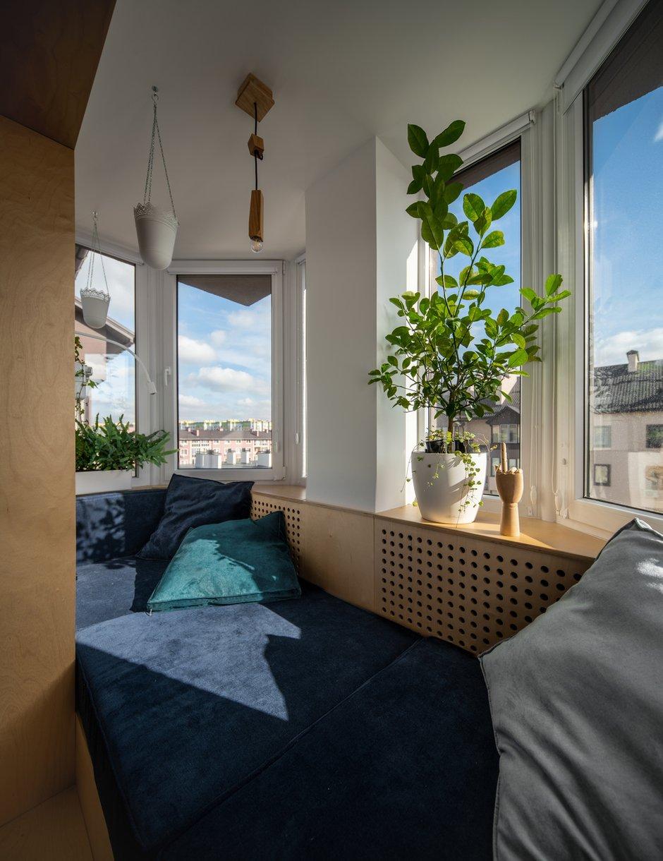 Фотография: Балкон в стиле Скандинавский, Минимализм, Квартира, Украина, Проект недели, 2 комнаты, 60-90 метров, Lauri Brothers – фото на INMYROOM