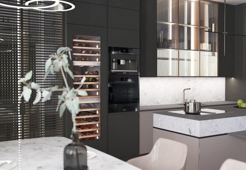 Фотография: Кухня и столовая в стиле Современный, Miele, Гид, G7000 – фото на INMYROOM