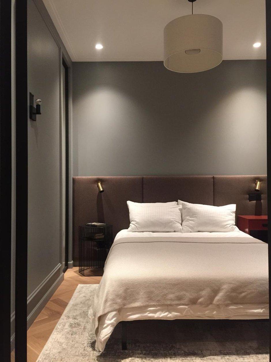 Фотография: Спальня в стиле Современный, Квартира, Проект недели, Москва, 2 комнаты, 40-60 метров, Planidesign – фото на INMYROOM