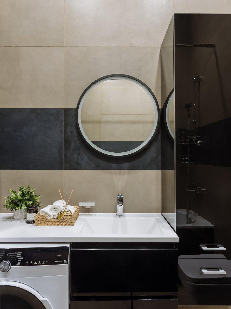 Фотография: Ванная в стиле Современный, Квартира, Проект недели, 3 комнаты, 60-90 метров – фото на INMYROOM