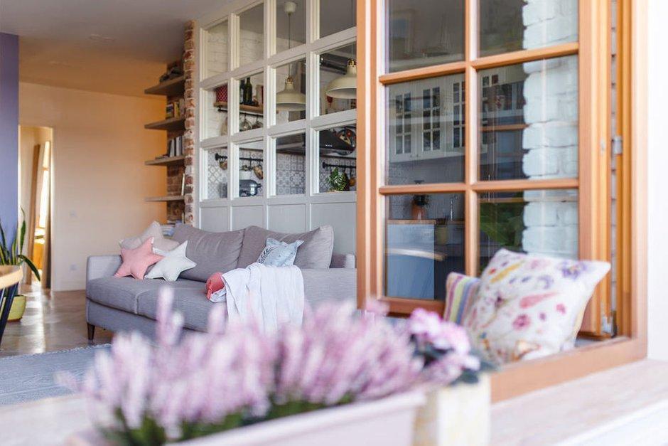 Фотография: Гостиная в стиле Скандинавский, Декор интерьера, Квартира, Советы, Евгения Лыкасова – фото на INMYROOM