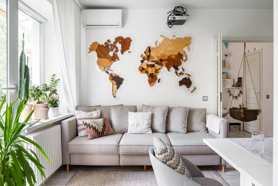 Фотография: Гостиная в стиле Скандинавский, Декор интерьера – фото на INMYROOM