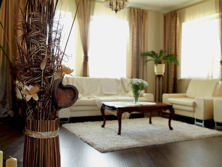Фотография: Гостиная в стиле Прованс и Кантри, Современный, Декор интерьера, Дом, Дома и квартиры – фото на INMYROOM