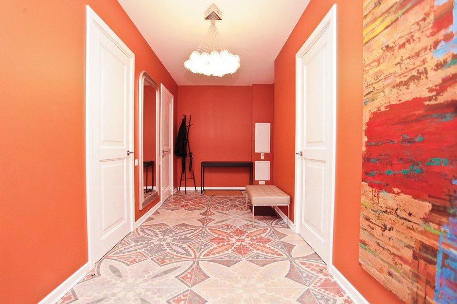 Фотография: Прихожая в стиле Современный, Скандинавский, Квартира, Дома и квартиры, Проект недели – фото на INMYROOM