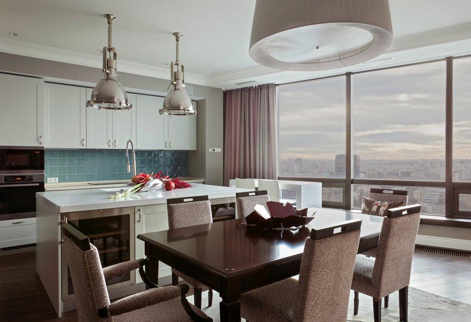 Фотография: Кухня и столовая в стиле Современный, Эклектика, Квартира, Дома и квартиры – фото на INMYROOM
