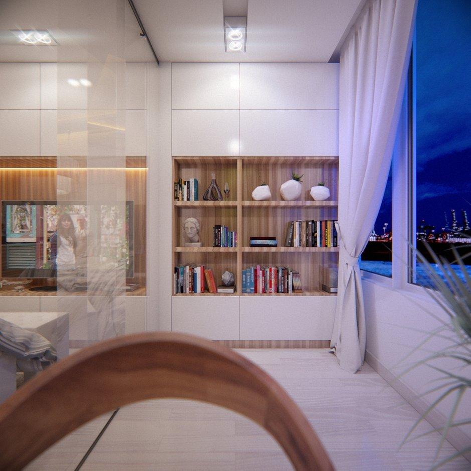Фотография: Кухня и столовая в стиле Современный, Квартира, Проект недели – фото на INMYROOM