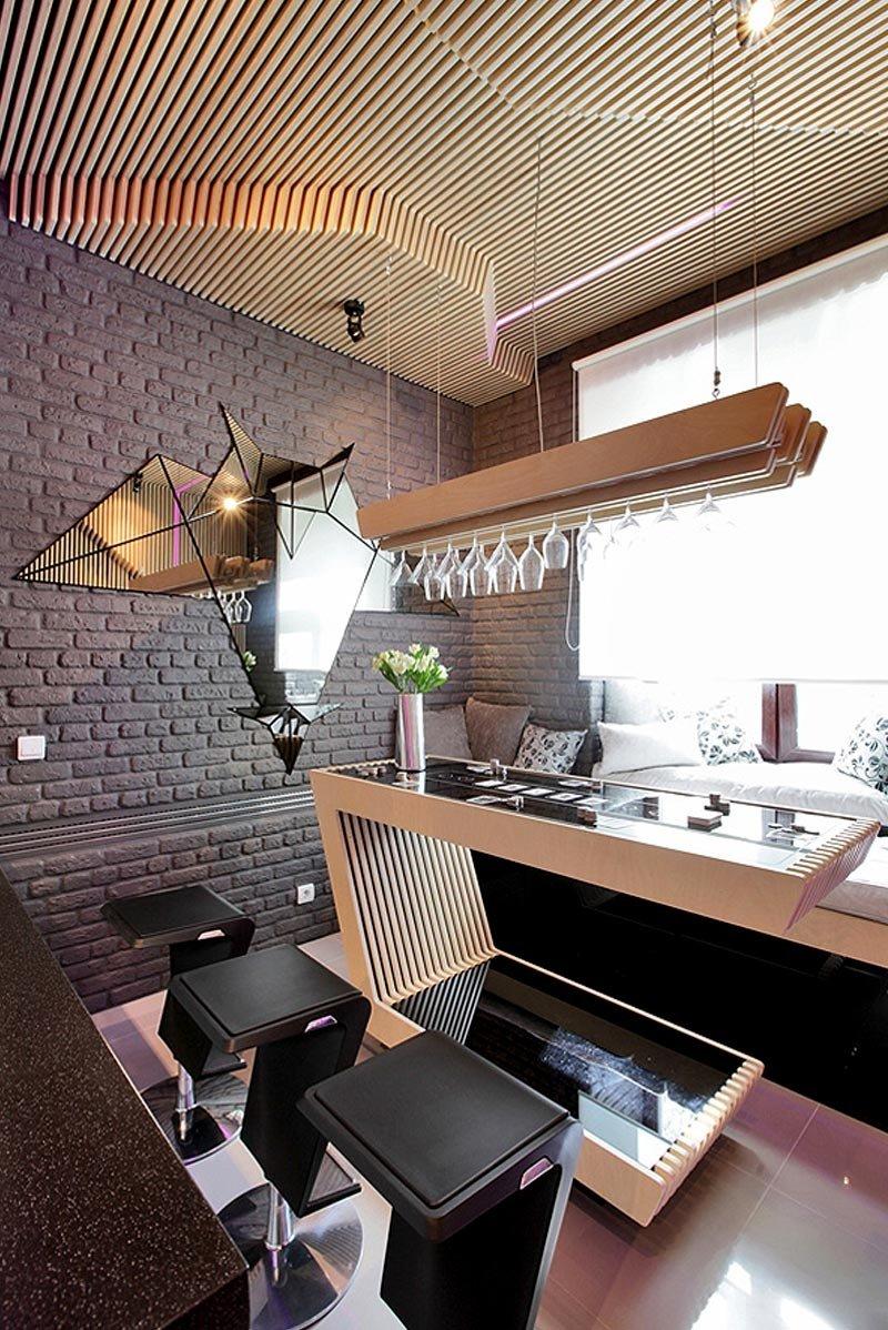 Фотография: Кухня и столовая в стиле Современный, Эклектика, Интерьер комнат, Проект недели, Перепланировка – фото на INMYROOM